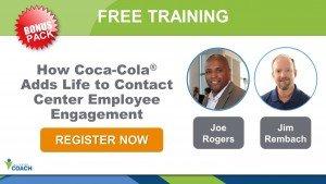 Best Contact Center Employee Engagement Program Coca-Cola