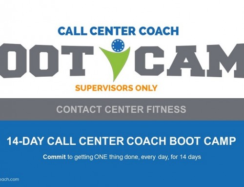 Contact Center Supervisor Training – Contact Center Fitness Boot Camp