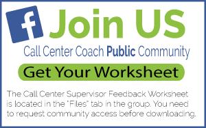 Get Your Call Center Supervisor Feedback Worksheet