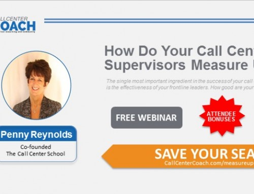 Penny Reynolds Leads Seminar on Supervisor Performance with Call Center Coach