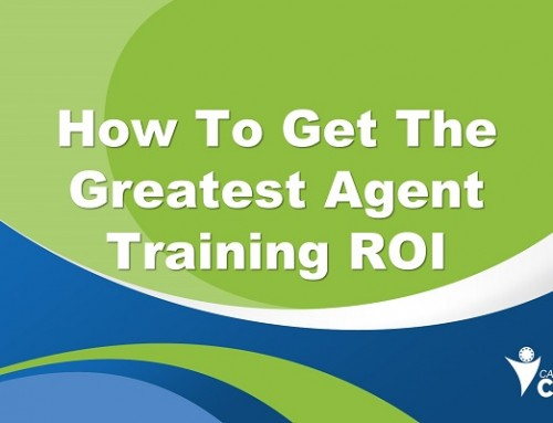 How to Get the Greatest Agent Training ROI
