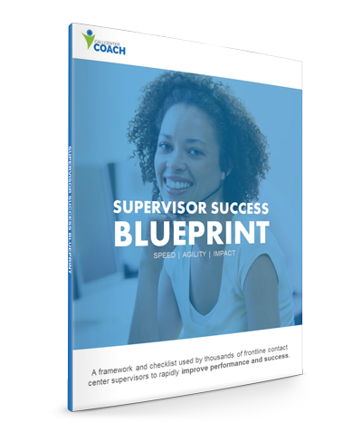 Contact Center Supervisor Success Blueprint