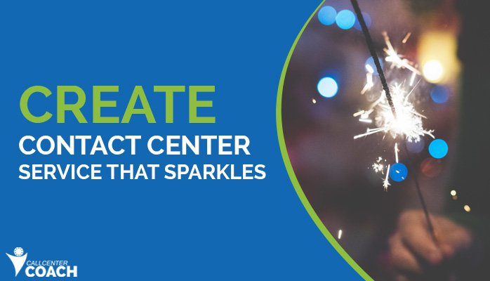 create contact center service that sparkles