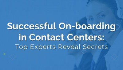 Successful agent on-boarding in contact centers
