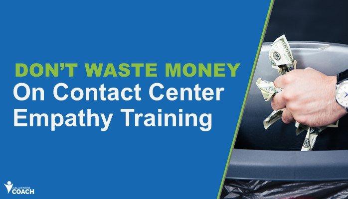 Don't Waste Money on Empathy Training